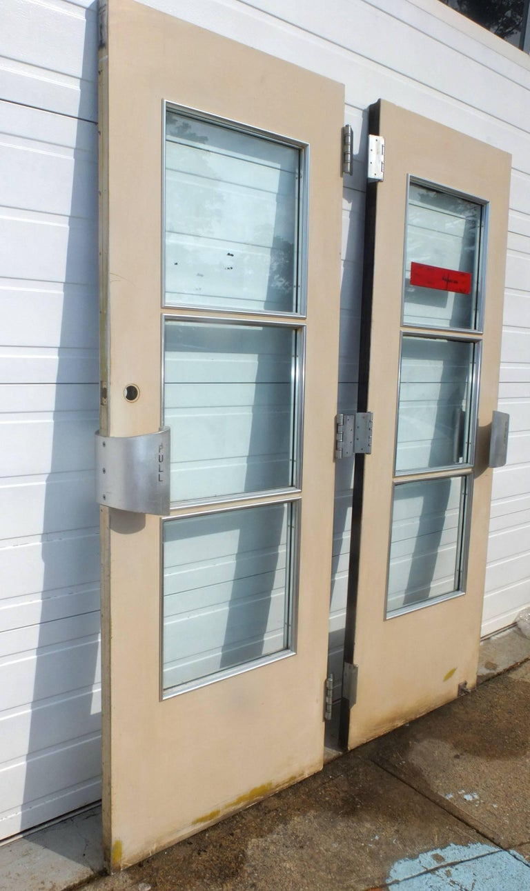 American Pair of Doors from S.S. United States Ocean Liner, 1952 For Sale