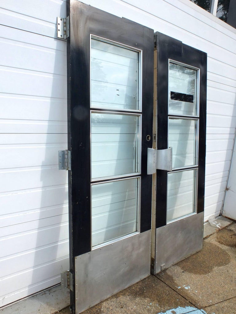 Pair of Doors from S.S. United States Ocean Liner, 1952 For Sale 1