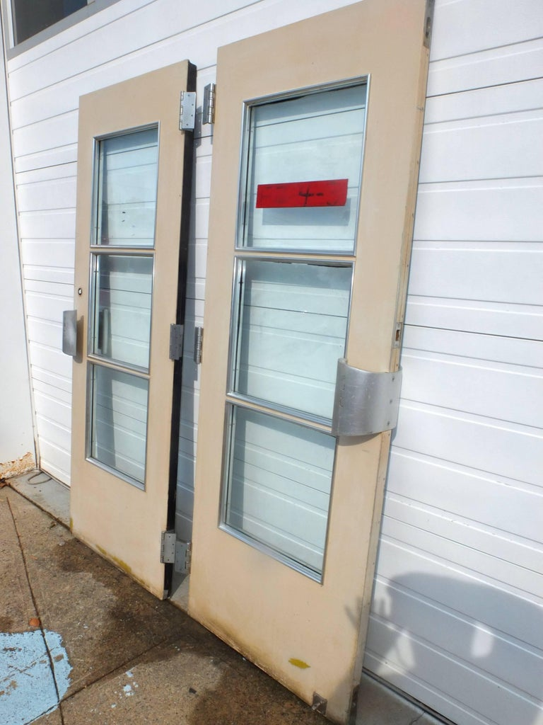 Pair of Doors from S.S. United States Ocean Liner, 1952 For Sale 2