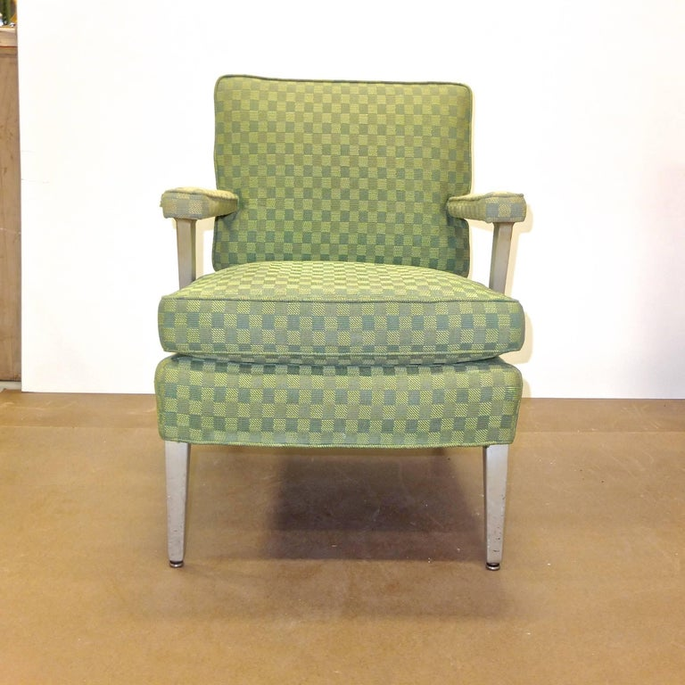 Set of Four SS United States First Class Cabin Upholstered Arm Chairs 5