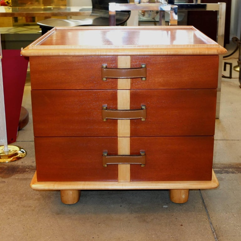 "Paul Frankl ""Station Wagon"" Three-Drawer Chest for Johnson Furniture 2"