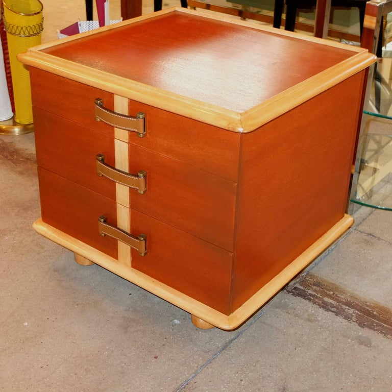 "Paul Frankl ""Station Wagon"" Three-Drawer Chest for Johnson Furniture 4"