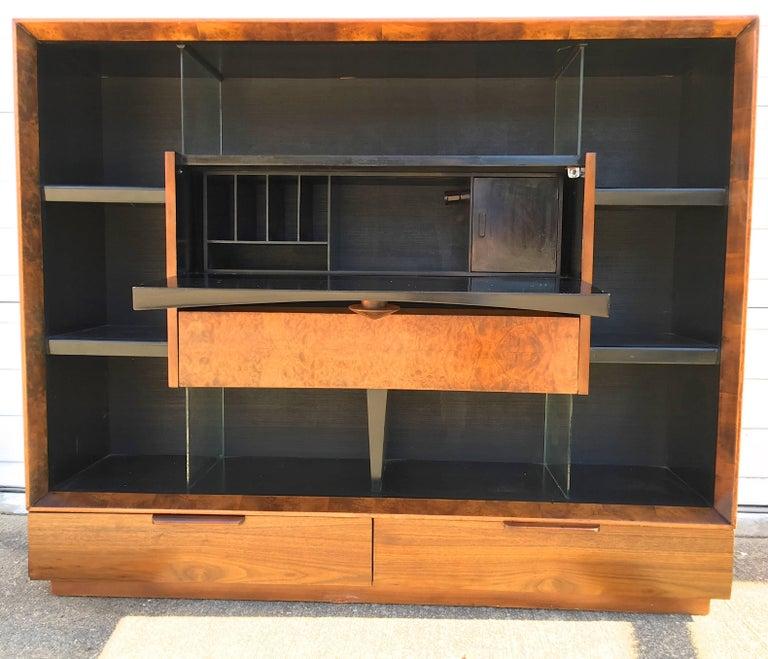 Gilbert Rohde Paldao Secretary Bookcase for Herman Miller 3
