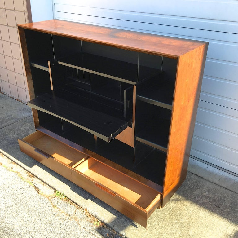 American Gilbert Rohde Paldao Secretary Bookcase for Herman Miller For Sale
