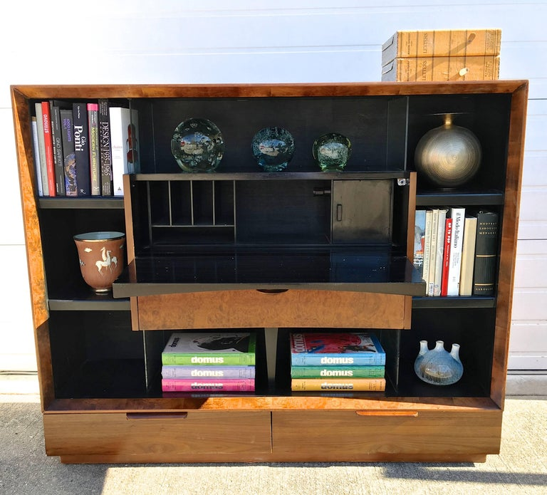 Gilbert Rohde Paldao Secretary Bookcase for Herman Miller For Sale 3