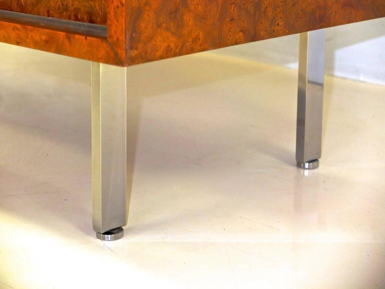 Harvey Probber Olive Burl Cabinet of Drawers 8