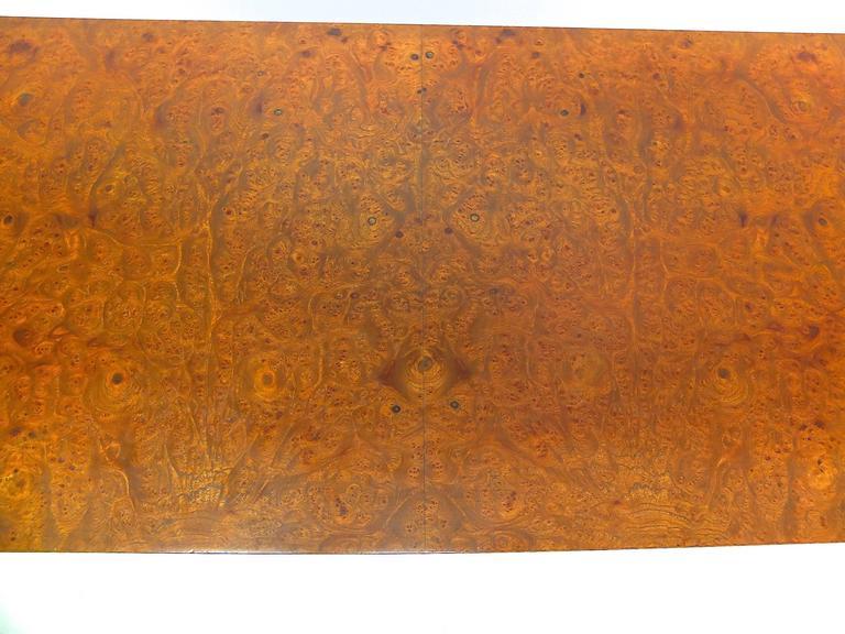 Harvey Probber Olive Burl Cabinet of Drawers 10