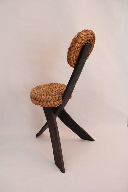 Pair of Rope Chairs 3