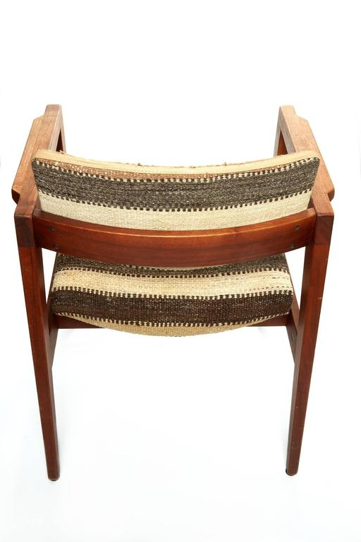 Wool Pair of Mid-20th Century Danish Armchairs For Sale