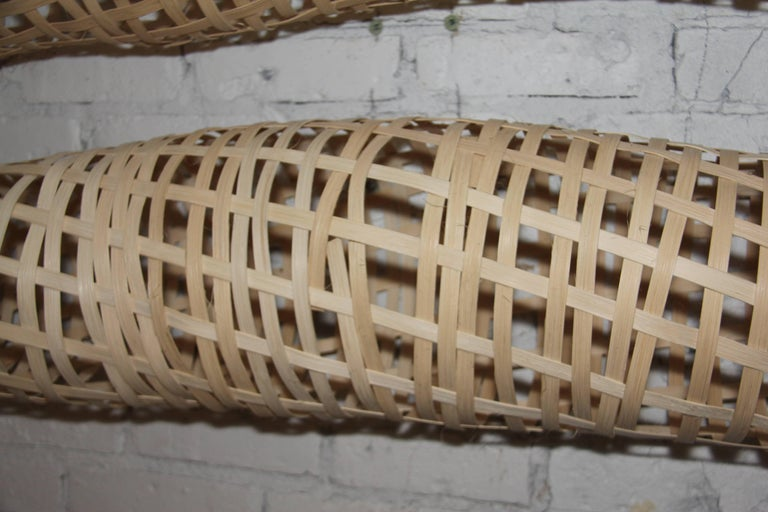 21st Century Woven Oak Sculptures by Analee Soskin For Sale 2