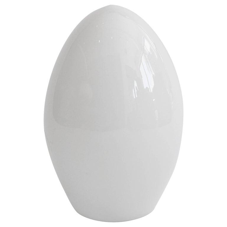 20th Century Vintage Italian Glass Egg Lamp