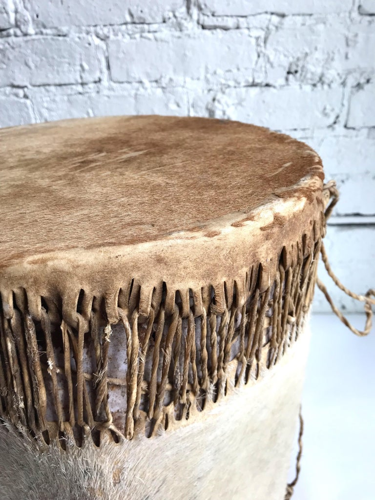 Late 19th Century Native American Drum For Sale 5