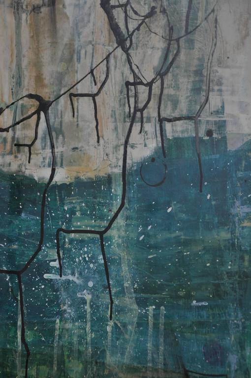 20th Century Greg Dickerson work on paper, Untitled Art For Sale 1