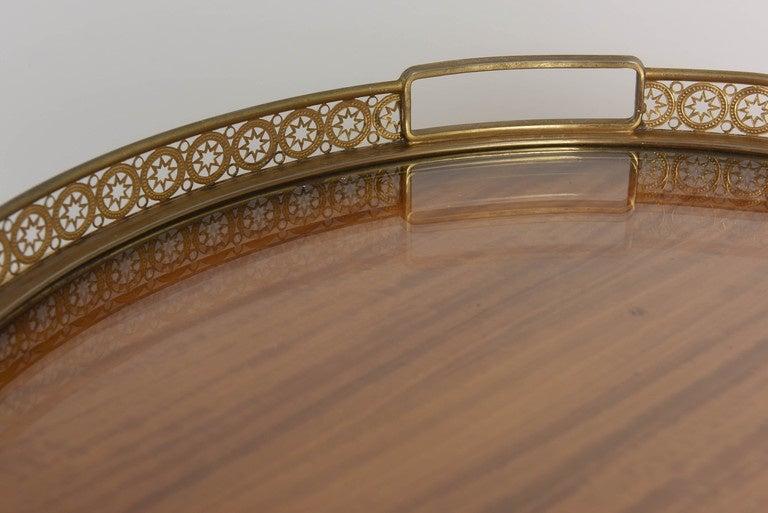 Mid-Century Aldo Tura Goatskin Dry Bar Cabinet For Sale 2