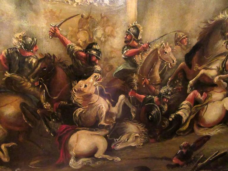 Palace Sized 19th Century French Oil Painting of the ...