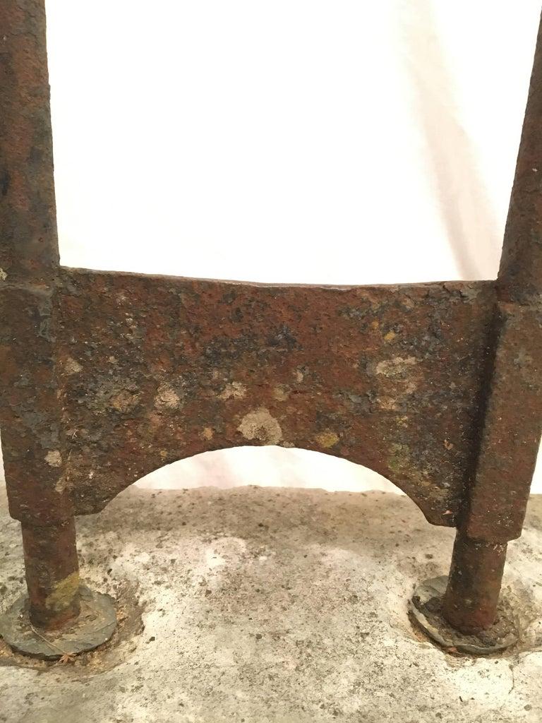 American Late 18th Century Iron Boot Scraper For Sale