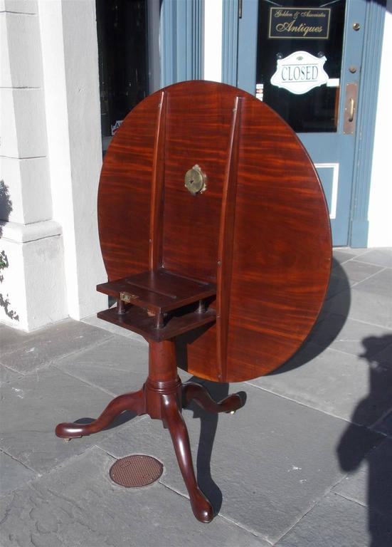 English Chippendale Mahogany Center Table With One Board Top.  Circa 1760 For Sale 2