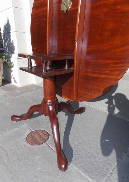 English Chippendale Mahogany Center Table With One Board Top.  Circa 1760 For Sale 3