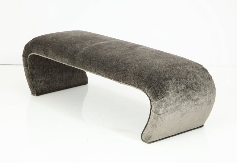 Mid-Century Modern Waterfall Bench, 1970s For Sale 2