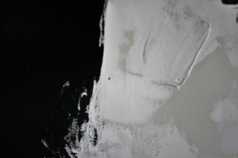 Original Black and White Painting by Argentine Artist Karina Gentinetta 8