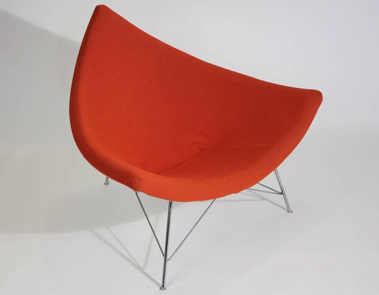 20th Century Original Early Version George Nelson Coconut Chair For Sale