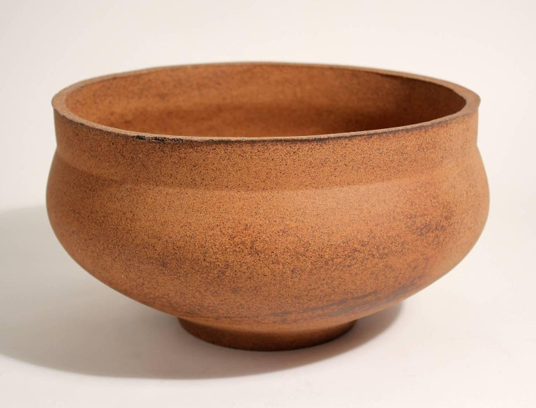 David Cressey Pro Artisan Architectural Pottery Planter Vessel Pot In Excellent Condition For Sale In San Diego, CA