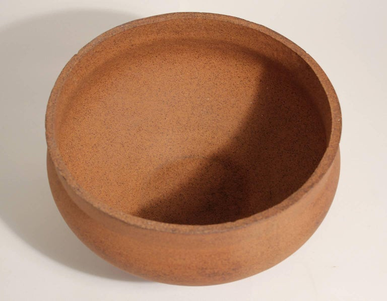 Mid-20th Century David Cressey Pro Artisan Architectural Pottery Planter Vessel Pot For Sale