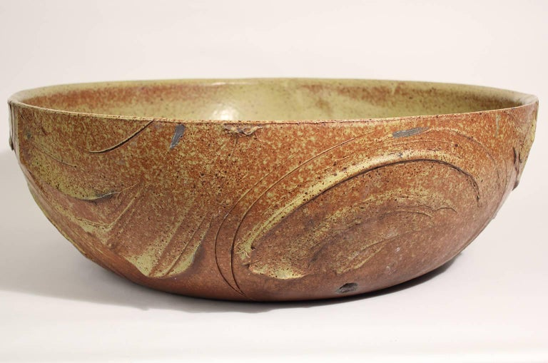 Large Scale Pro/Artisan Architectural Pottery Planter Sculpture by David Cressey For Sale 1