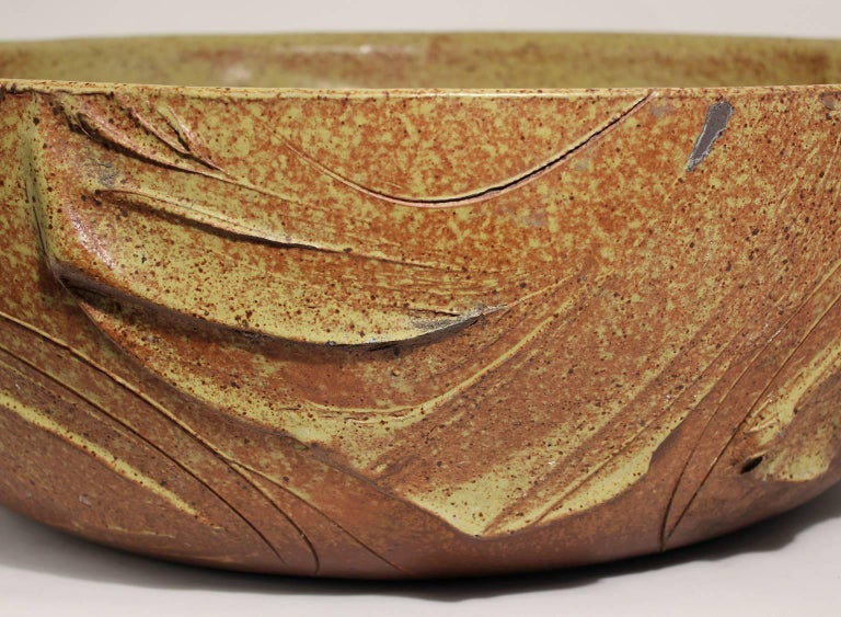 Large Scale Pro/Artisan Architectural Pottery Planter Sculpture by David Cressey For Sale 4
