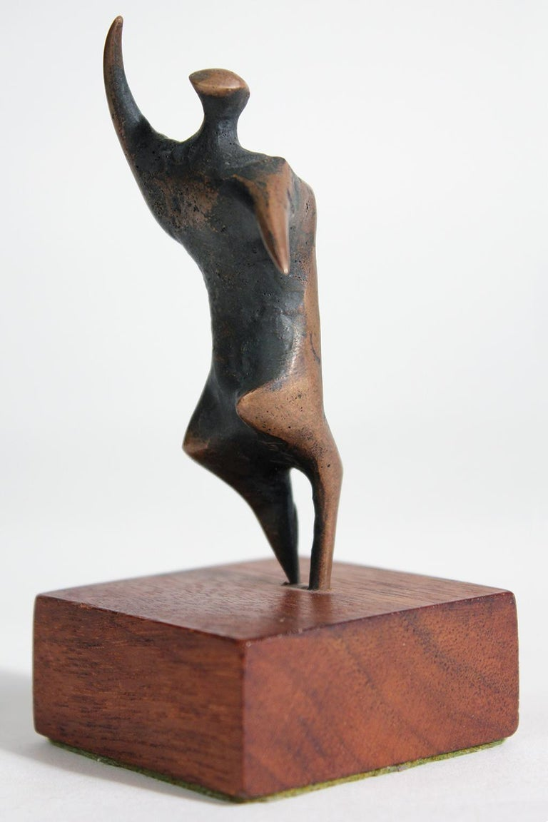Jack Boyd Bronze Abstract Modernist Sculpture For Sale 1