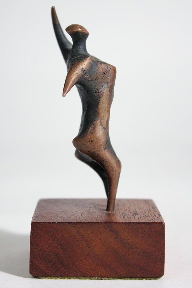 Jack Boyd Bronze Abstract Modernist Sculpture For Sale 2