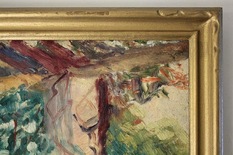 Listed San Diego California Artist Bess Gilbert Oil Painting Balboa Park For Sale 2
