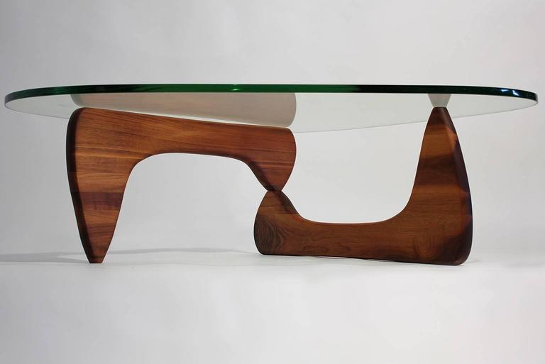 Early Coffee Table In 50 With Green Glass By Isamu Noguchi For Sale At 1stdibs