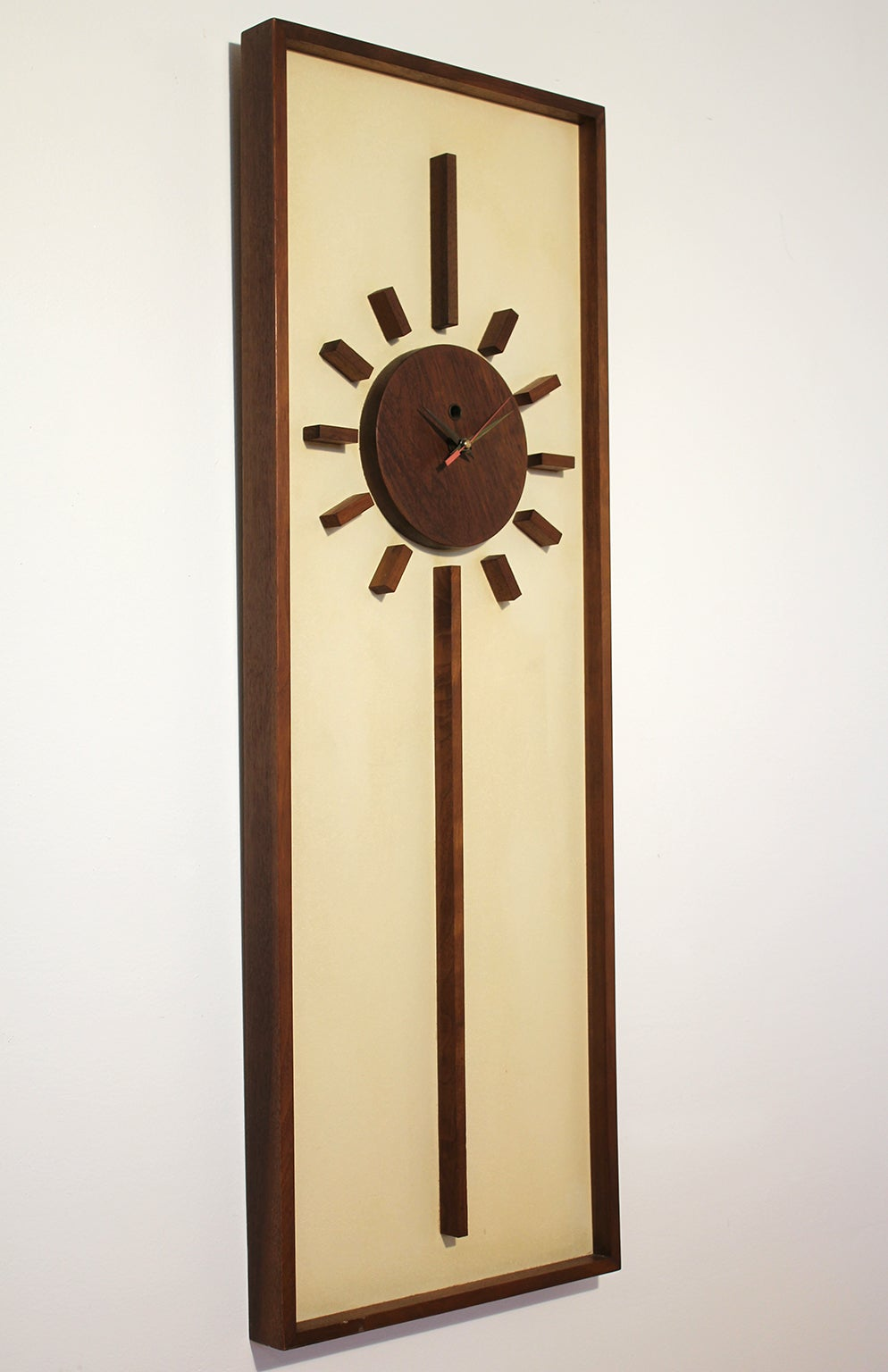 Vintage Modern Peter Pepper Wall Clock at 1stdibs