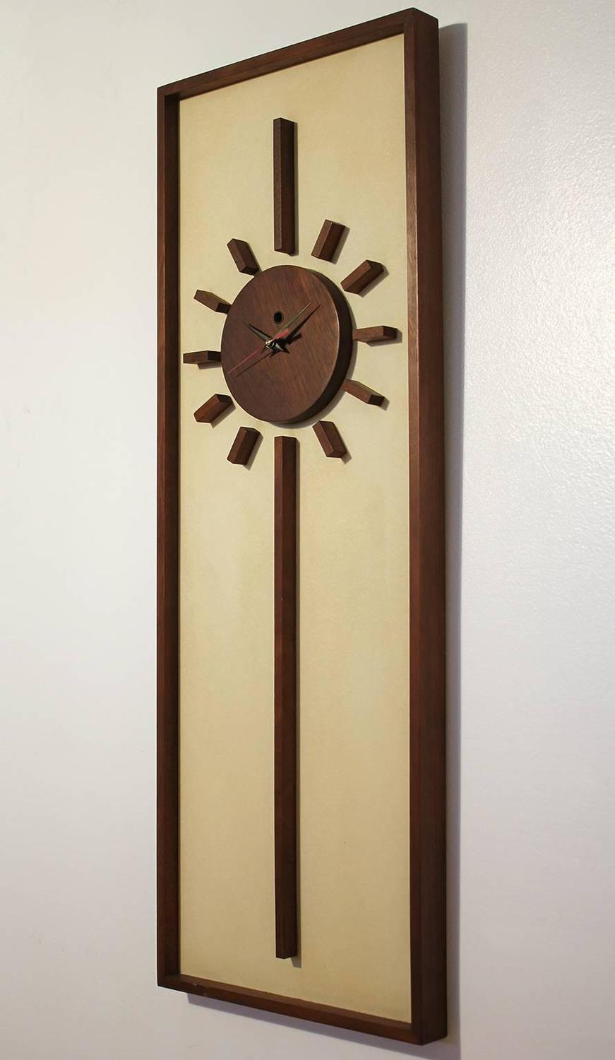 Vintage Modern Peter Pepper Wall Clock For Sale At 1stdibs