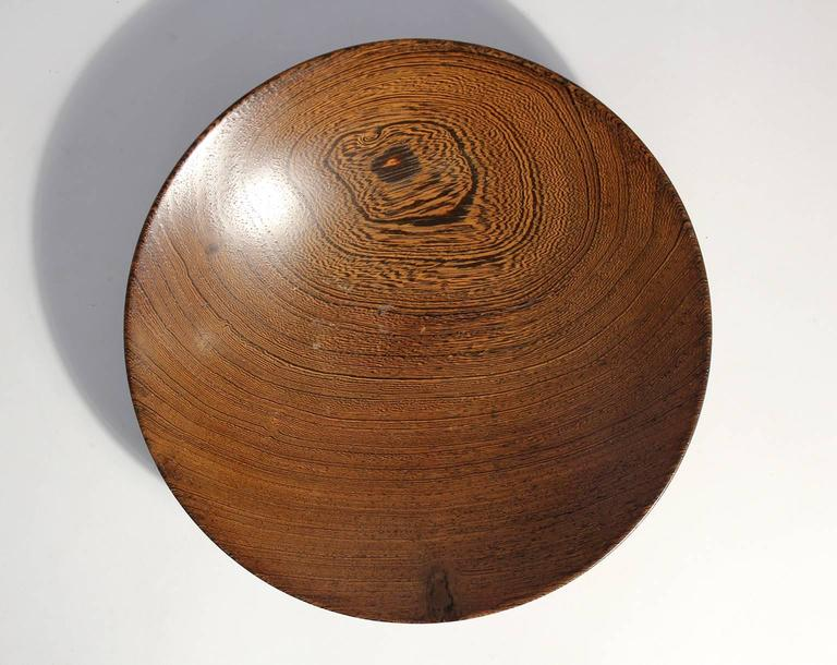 Mid-Century Modern Bob Stocksdale Turned Wood Art Bowl For Sale