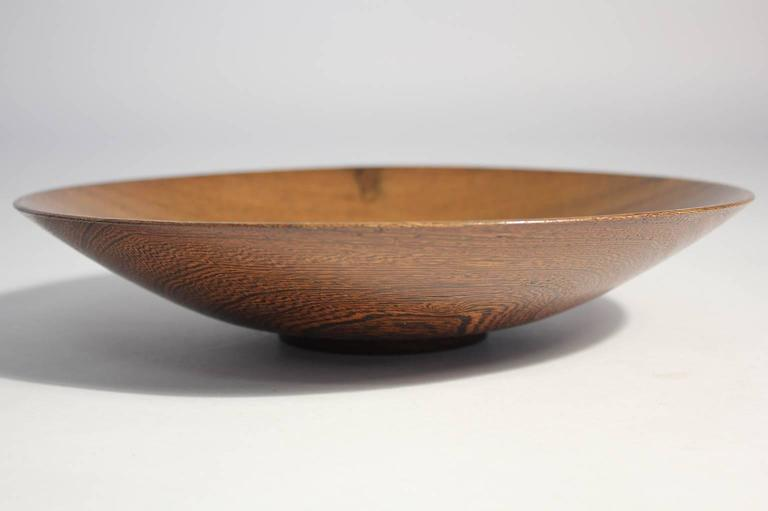 American Bob Stocksdale Turned Wood Art Bowl For Sale