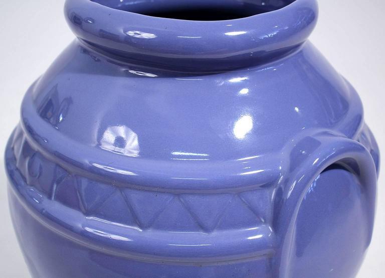 Arts & Crafts Large Alamo Pottery Garden Oil Jar Urn Jardiniere For Sale 2