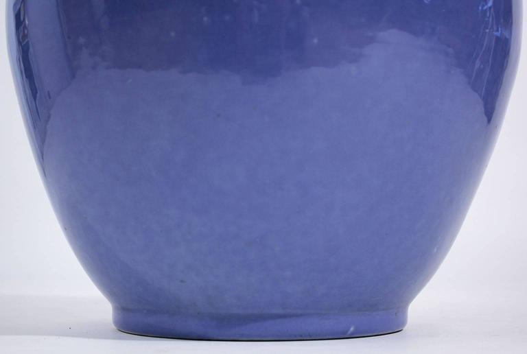 Arts & Crafts Large Alamo Pottery Garden Oil Jar Urn Jardiniere For Sale 3