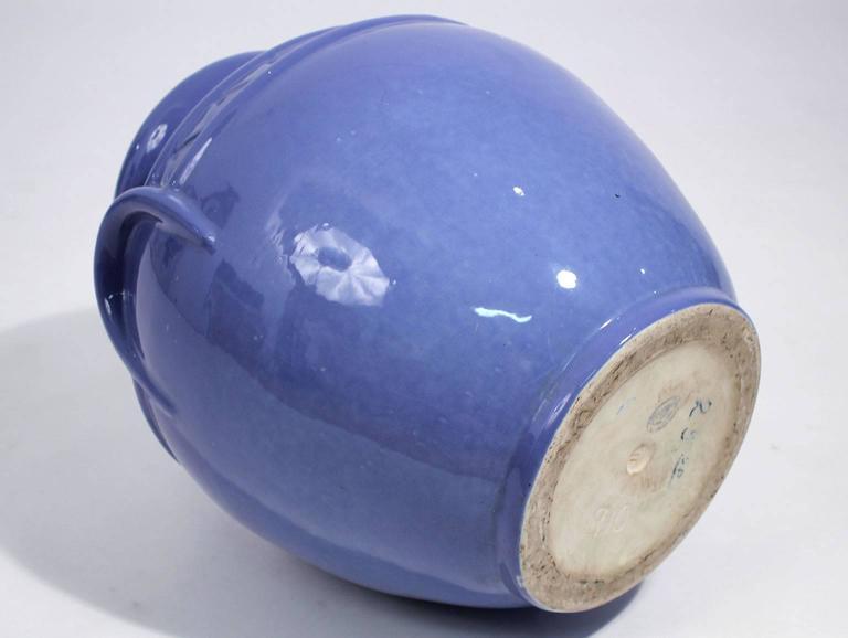 Arts & Crafts Large Alamo Pottery Garden Oil Jar Urn Jardiniere For Sale 4