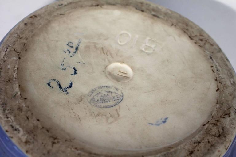 Arts & Crafts Large Alamo Pottery Garden Oil Jar Urn Jardiniere For Sale 5