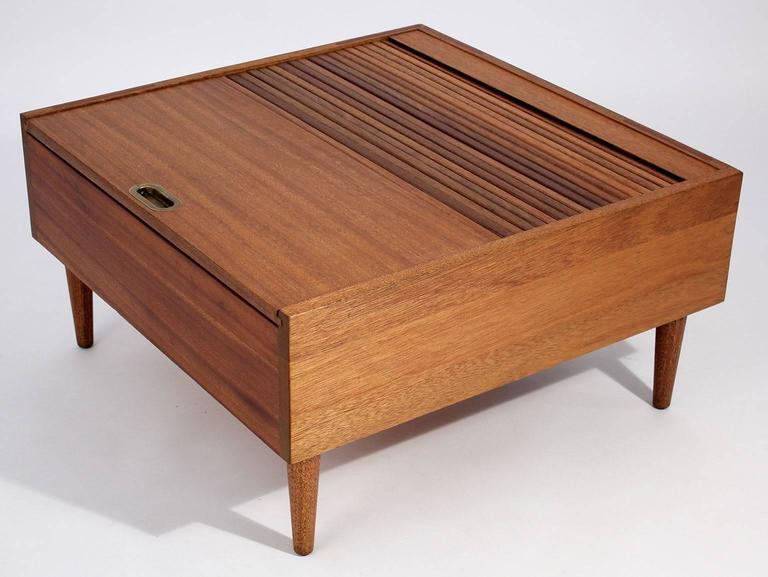 Mid Century Modern Brown Saltman Coffee Table By John Keal For