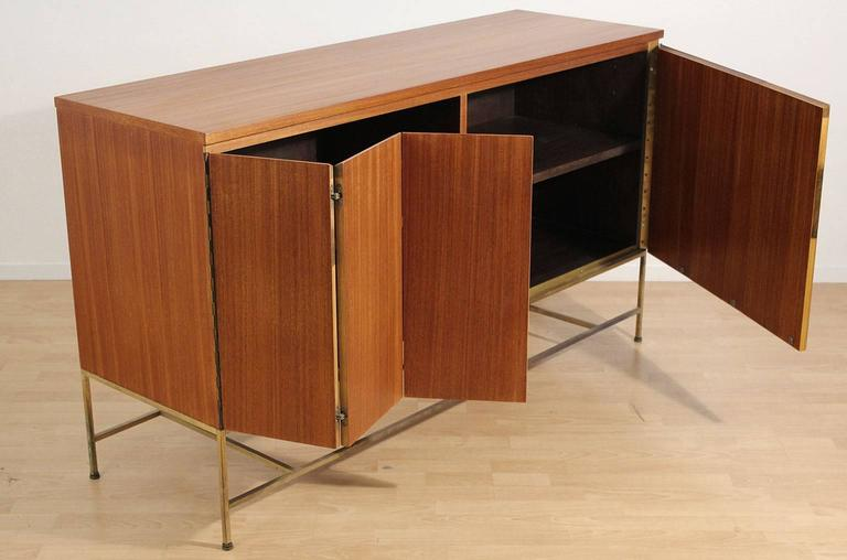 Paul McCobb for Calvin Credenza Sideboard Buffet In Excellent Condition For Sale In San Diego, CA