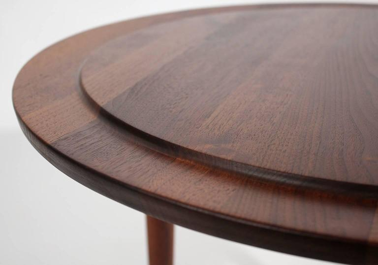 Custom Modernist Round Side Table, 1963 6