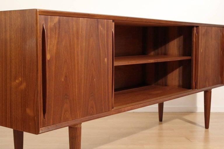 Arne Vodder Danish Teak Credenza Sideboard For Sale 1