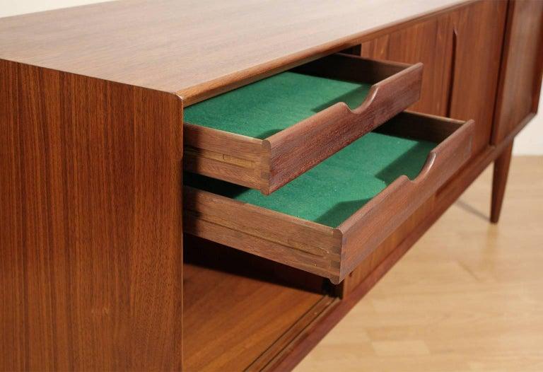 Arne Vodder Danish Teak Credenza Sideboard For Sale 2