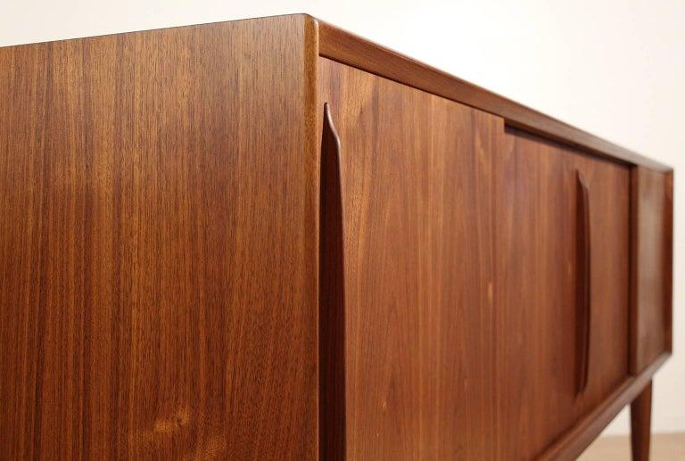 Arne Vodder Danish Teak Credenza Sideboard For Sale 4