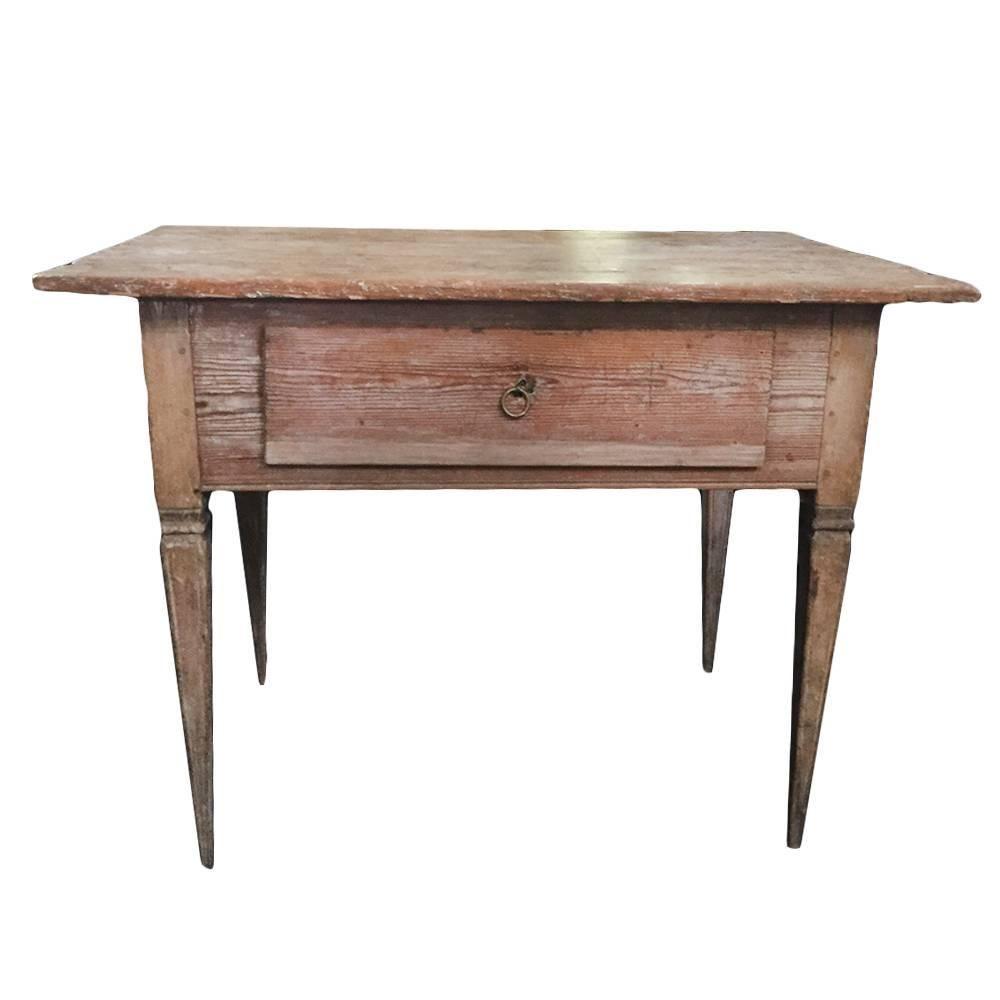 18th century gustavian console