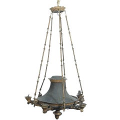 Early 19th Century Empire Bronze Chandelier