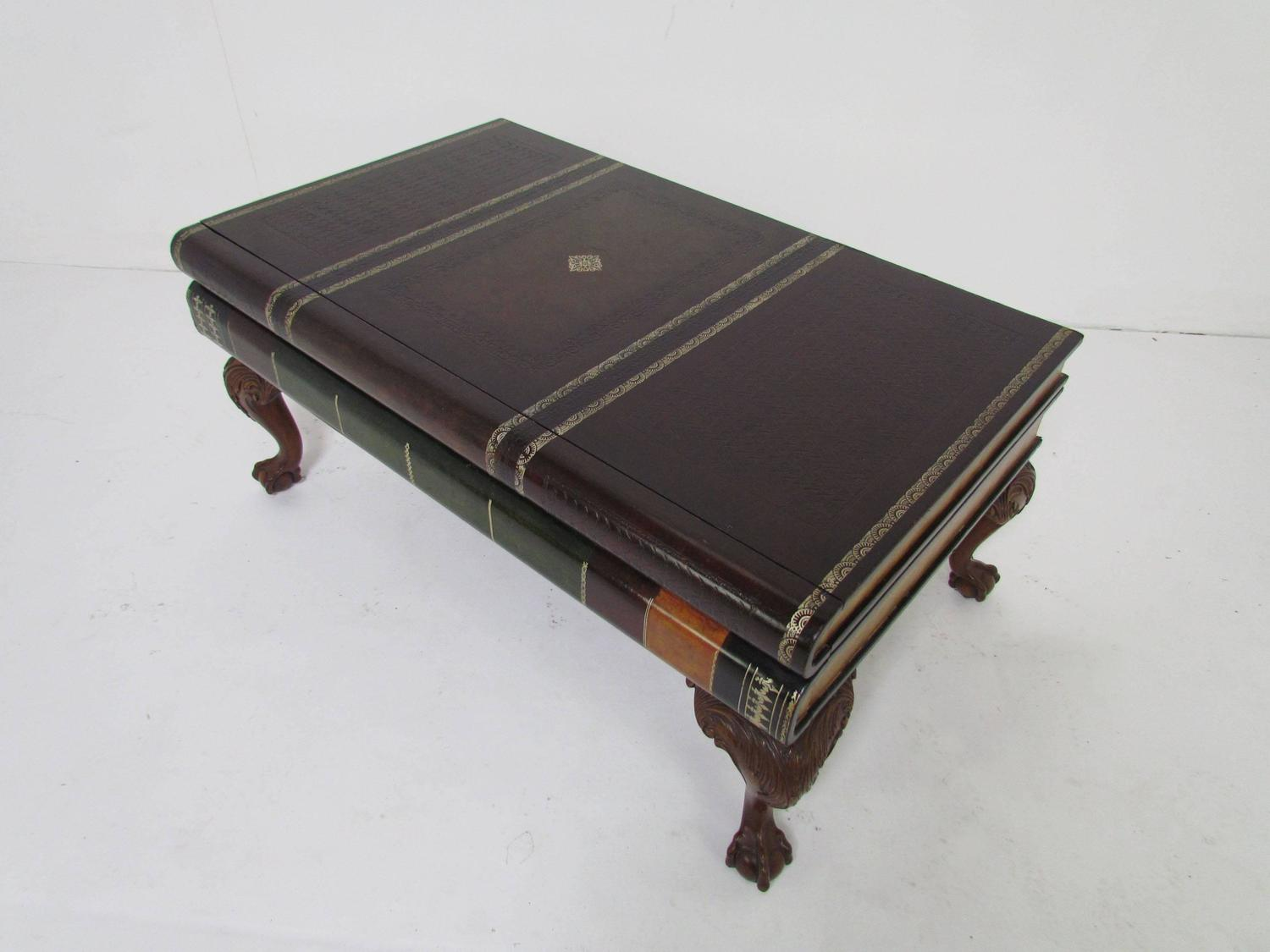 Https Www 1stdibs Com Furniture Tables Coffee Tables Cocktail Tables Maitland Smith Stacked Leather Book Form Coffee Table Id F 5332983